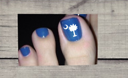 Pedicure Palmetto Tree Decals Show off your Toes **SALE**