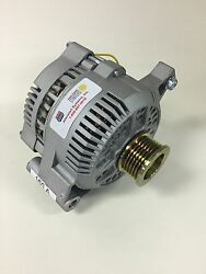 65-85 Ford Mustang 3g High Output Small Case 1 One Wire Alternator 160a 6 Groove