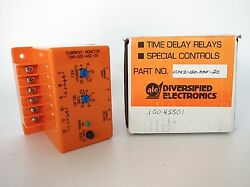 ATC CMI-120-ASE-20 AC Over Current Monitor Relay for Motor Jam Ups 120 VAC
