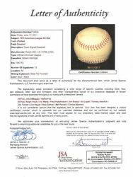 1951 American League All-star Team Signed Autographed Baseball Ball Jsa Dimaggio