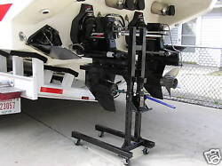 Boat Outdrive Stand Jackstand Omc Mercruiser With A Pair Of Extensions