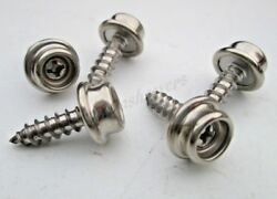 Marine Stainless Steel Screws Snap Fasteners 10 X 5/8 Boat Covers Canopy Seat