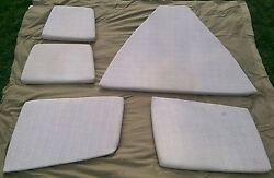 1990 20and039 Bayliner Capri Cuddy Cabin Cushions-complete Set-used