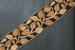 Jasdee Vintage Border Trim 2 3 4quot; Width Embroidery Work By Yard Style A1268