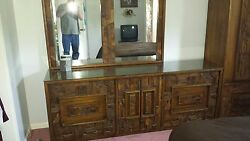 Antique Bedroom Dresser And Armoire