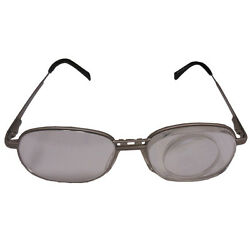 Eschenbach 7x / 28d Spectacle Magnifier Reading Glasses - Left Eye Magnified