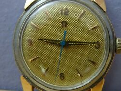 Omega Watch Early And First Model Caliber 471 Waterproof Antique Vtg Rare Wind Up