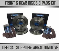 Oem Spec Front + Rear Discs And Pads For Dodge Usa Caliber 2.0 2006-11
