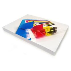 Clear Sticker Labels Glossy Vinyl Inkjet Printable Non-tear Self Adhesive Label