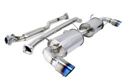 MEGAN OE-RS SERIES CAT BACK EXHAUST FOR 04-08 MAZDA RX8 ROTARY RENESIS 13B-MSP