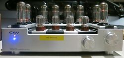 Cav T5881 Tube Stereo Power Amp Amplifier Mint/new And Works Great Audiophile Unit