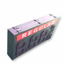 12 Double Sided Led Gas Price Sign With Complete Aluminum Cabinet