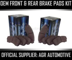Oem Spec Front And Rear Pads For Chevrolet Orlando 2.0 Td 2011-15