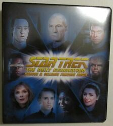 2013 Star Trek The Next Generation Heroes And Villains Master Set Of 325 Cards