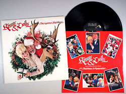 Kenny Rogers And Dolly Parton - Once Upon A Christmas 1984 Vinyl And Lp
