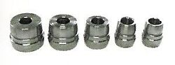 Ammco Brake Lathe Double Taper Adapter 5 Pcs Set New As9232
