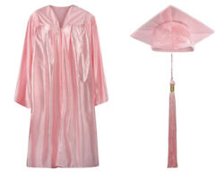 Child Graduation Cap Gown Tassel Shiny Finish- Many Colors and Sizes available