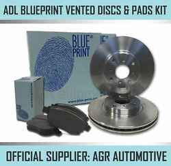 Blueprint Front Discs And Pads 284mm For Vauxhall Corsa 1.3 Td 90 Bhp 2006-14