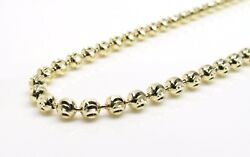 10k Solid Gold Yellow Moon Cut Chain 28 3.8mm Wide 30.5 Grams Solid