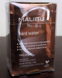 New Package Of Malibu C Hard Water Demineralizer Treatments12 Packgoing Fast