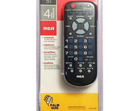 Rca Replacement Universal Remote Control For Tv Vcr Hdtv Sat/cable/converter Box