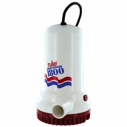 Rule 1800 Sump/utility Pump With 8and039 Cord - 110v Automatic - A53s