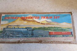 linemar 1950 rare battery operated train