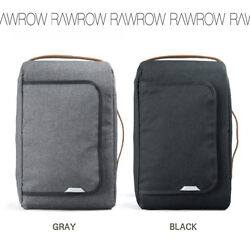 RAWROW Men's Most Canvas Backpack Rucksack Laptop Shoulder Hiking School Bag