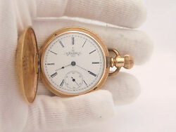 Elgin National G.f. Pocket Watch Not In Working Condition. Size 6s