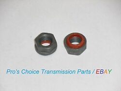 2-coarse Thread Band Adjusting Nuts--fits All 1964 - 1981 Ford C-4 Transmissions