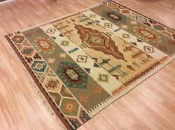 Caucasian Tribal Indian Handwoven Wool Kilim Rug Xxxl 10and039x16and039 314x487cm 50off