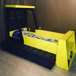 Bulldozer Twin Size Bed