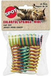 Spot  Ethical Colorful Springs Wide (10 per pack) OUR MOST POPULAR CAT TOY!