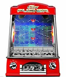 penny pusher falls novelty fairground coin