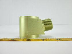 Tube And Coupling Parker Military Surplus Aviation Aircraft Airplane Space Sku A S