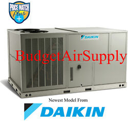 DAIKIN Commercial 7.5 ton (208230)3 phase 410a AC Package Unit-RoofGround