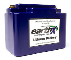 Lithium Battery EarthX ETX36C for 12-14 H-D FLD Dyna Switchback Apps.