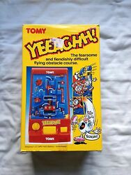 tomy yeeaghh game boxed 1990 instructions