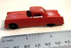 tootsietoy red ford thunderbird die cast 3