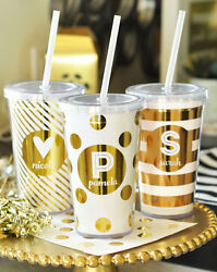 Personalized 16 Oz Tumbler Sweet 16 Birthday Quinceanera Graduation Party Favor