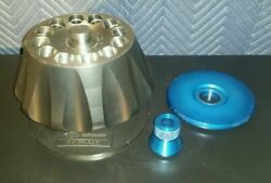 Dupont Sorvall T-1250, 12 Place Rotor Max Rpm=50000 w/Lid & Stand Solid Titanium