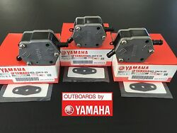 Yamaha Oem Outboard Fuel Pump Assy And Gasket 3pack 115 150 175 200 225 250 300