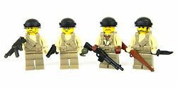 Custom Us Ww2 Army Squad Soldiers Made With Real Legor