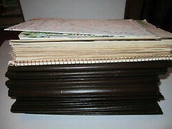 Large Vtg Collection Of Arco Oil And Gas Company Material And 7 Maps -see Pics- Gs