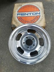 Nos Fenton Gyro Racing Wheel 15 Andtimes 7 Aluminum Slot Chevrolet Gm Ford Pontiac