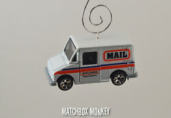Custom Christmas Ornament 1/64 Postal Service Mail Delivery Truck Usps Ups