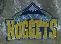 Denver Nuggets 3.5 Iron On Embroidered Patchusafree Ship