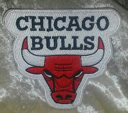 Chicago Bulls 3.5 Iron On Embroidered Patchusafree Ship