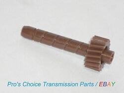 18 Tooth Brown Speedometer Driven Gear--fits Gm T5 Manual Transmissions