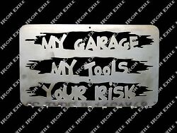 My Garage Your Risk Wrench Or Key Tool Holder Organizer Trailer Christmas Gift